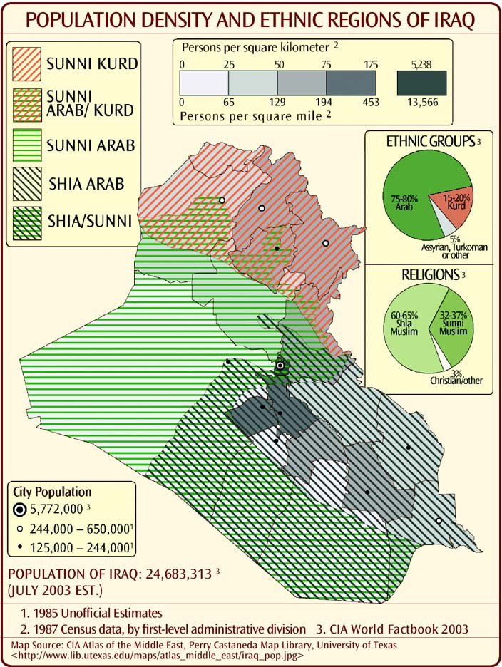 Map Of Iraq Provinces. Iraq - Provinces Maps