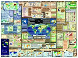 Earth Wall Chart Press Release Earth Web Site